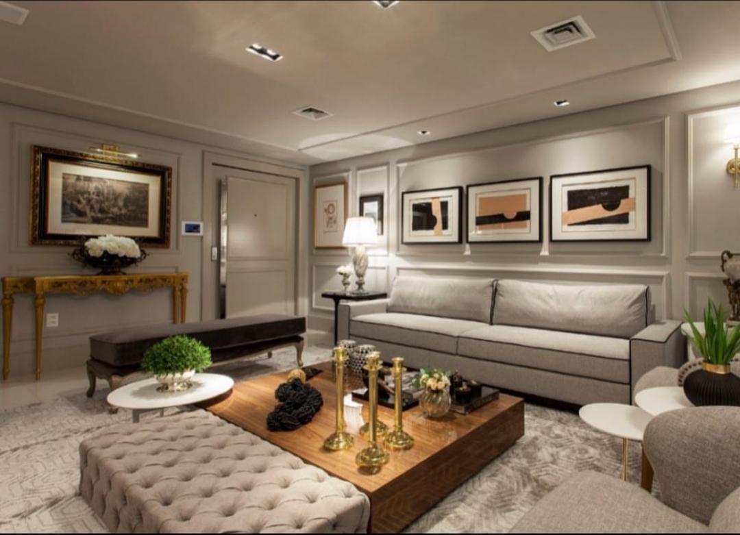 Boiserie: sala de estar
