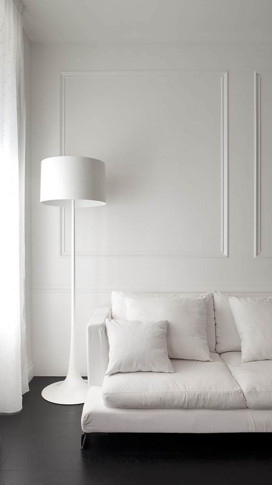 Boiserie: detalhe branco